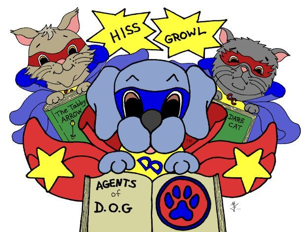 Dreamee Dog's Super Heroes - Agents of D.O.G.