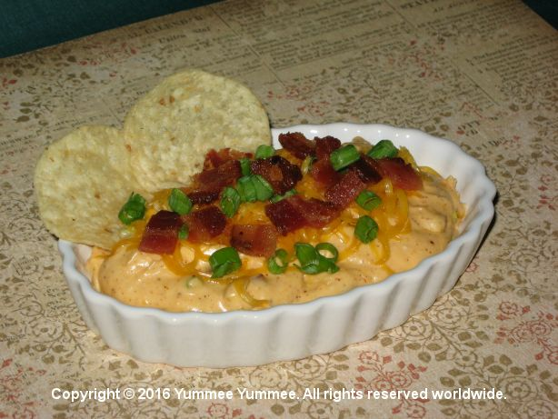 Chili Bacon Cheddar Cheese Dip