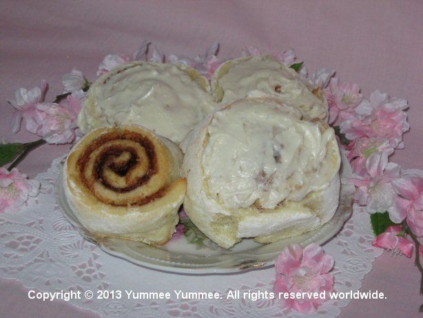 Enjoy sweet Cinnamon Rolls with your morning cup of coffee or tea.