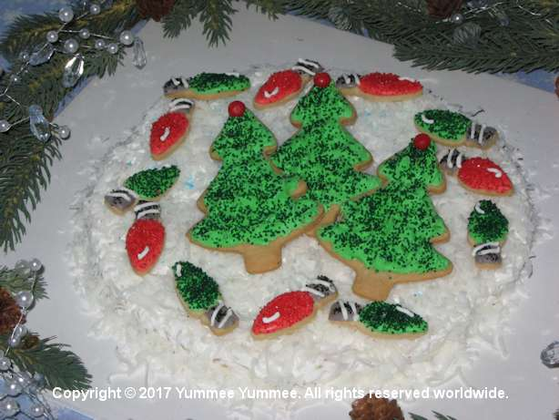 Christmas trees and lights are Christmas. Make, bake, eat, and enjoy homemade cookies. Decorate, or not.