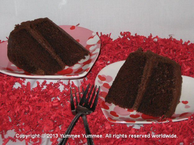 Are you celebrating being single? Bake Fudgee Chocolate Velvet Cake for yourself. No sharing required.
