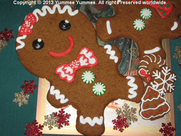I'll be home for Christmas. Bake a Giant Gingerbread Man Cookie for me!