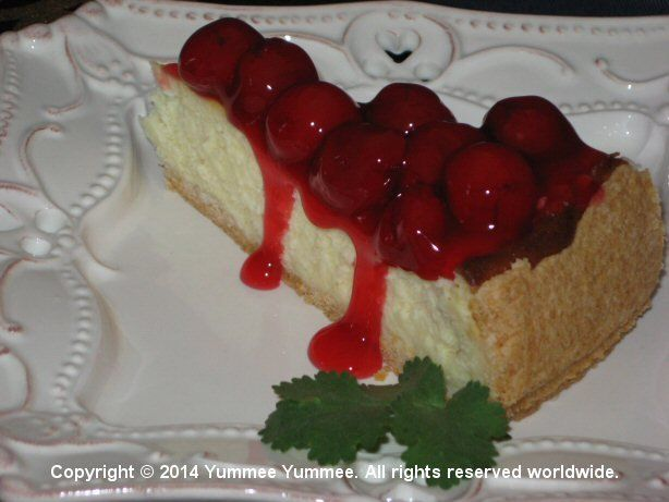 Top off a romantic dinner for 2 with this recipe for Pastry Crust Cheesecake.