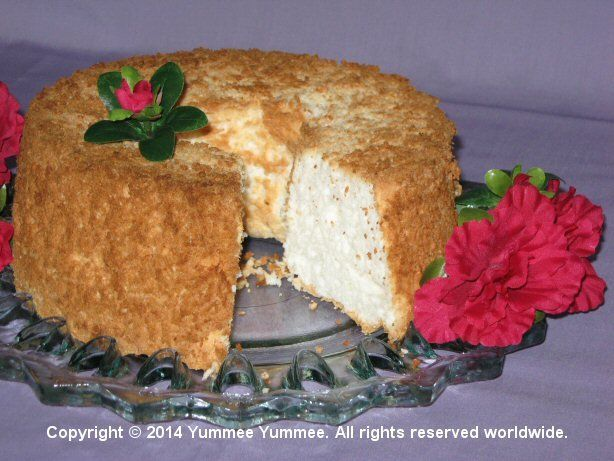 Felice's Angel Food Cake is a marvelous treat.